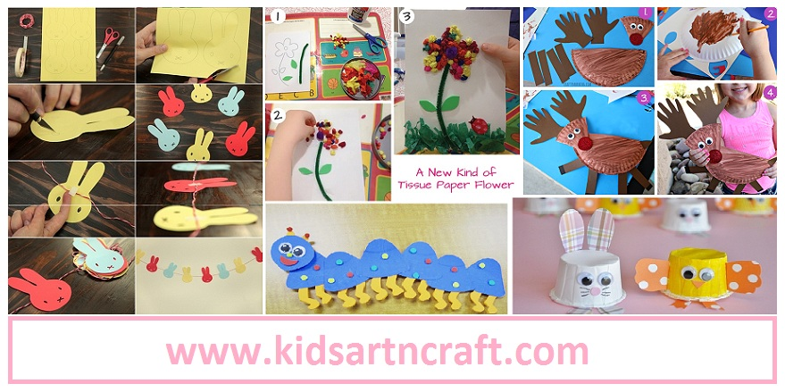Diy Simple Paper Crafts Ideas For Kids Kids Art Craft