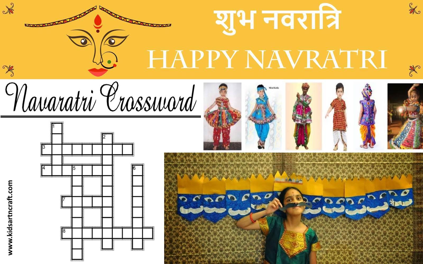 Navratri Dussehra Craft Fun Activities For Kids Kids