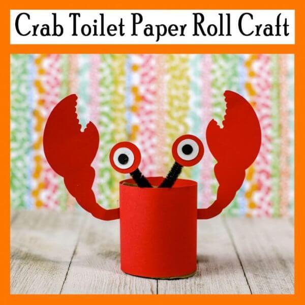 Bowl Crab Toilet Paper Roll Crab Toilet Paper Roll Crab