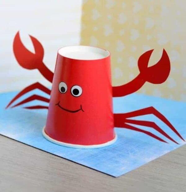 Paper Cup Crab