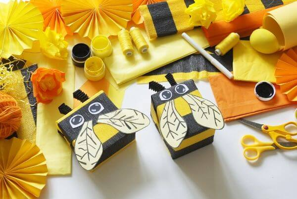 Bee Crafts for Kids Box Bee