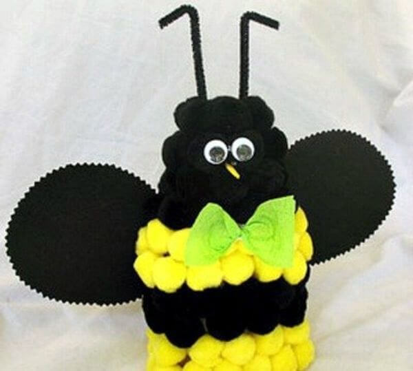 Bee Crafts for Kids The Black Queen