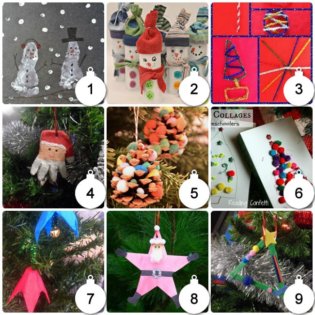 Some Pretty Christmas Craft Ideas For Kids