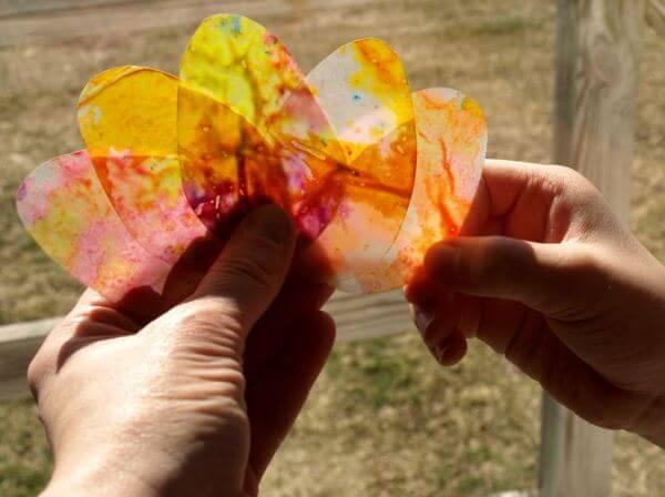 Easter Egg Crafts Suncatchers