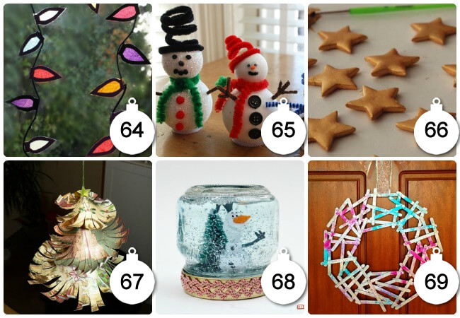 Some Beautiful Snow Inspired Christmas Crafts For Kids