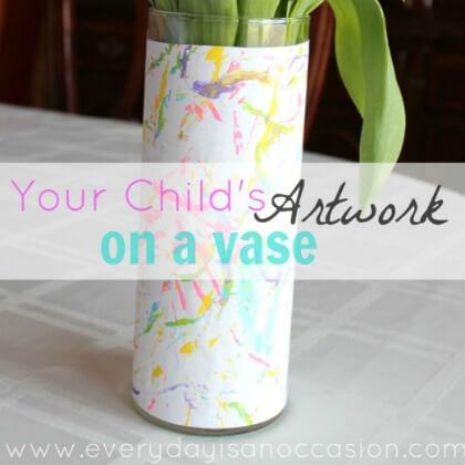 Artwork On A Vase