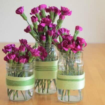 DIY Flower Vases Gift Ideas