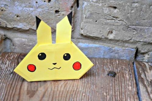 DIY Pokemon Origami