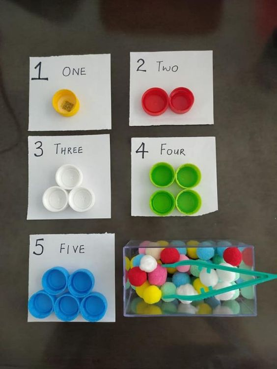 Educational Craft Activities for Kids ONE,TWO AND...WHAT MOM