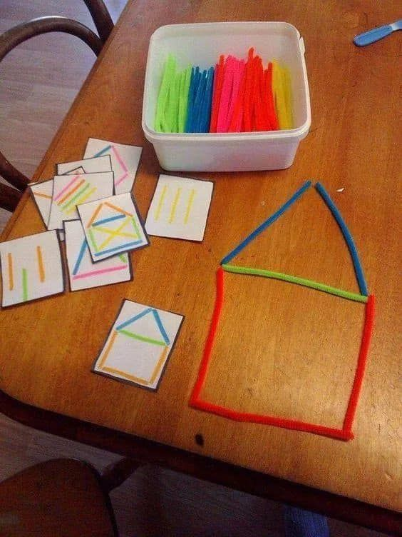 Educational Craft Activities for Kids HOME SWEET HOME