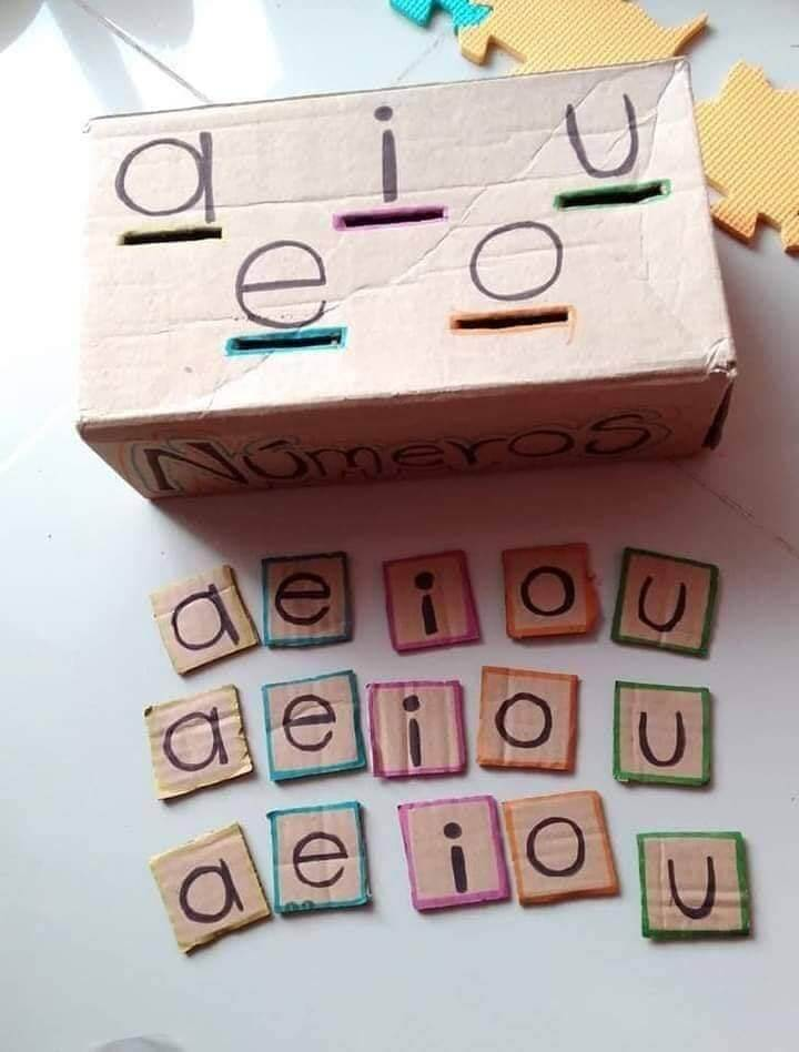 Learning Activities for Kids WOW VOWELS