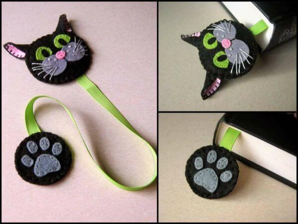 BOOKMARKS THAT EMRACES A NEW BEGINNING HEY BLACK CAT..!