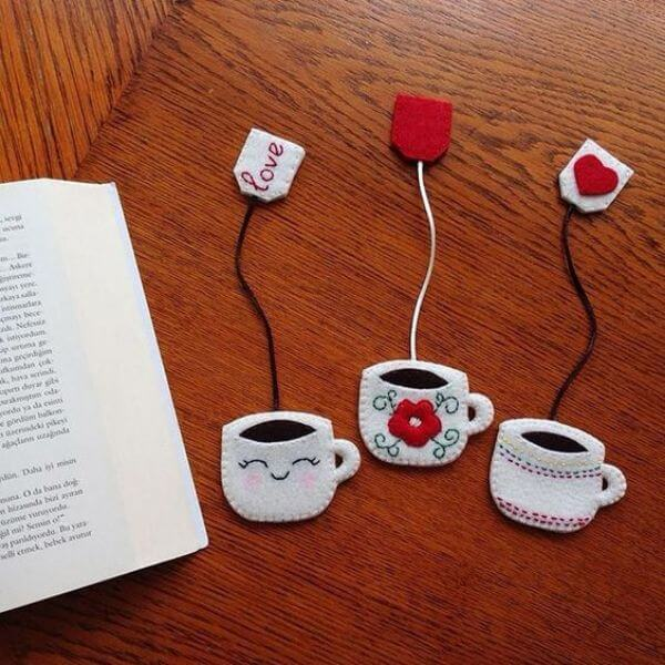 BOOKMARKS THAT EMRACES A NEW BEGINNING I LOVE COFFEE