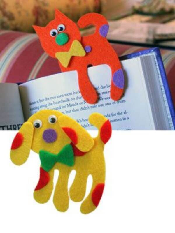 BOOKMARKS THAT EMRACES A NEW BEGINNING KITTY DOGGY AND MORE