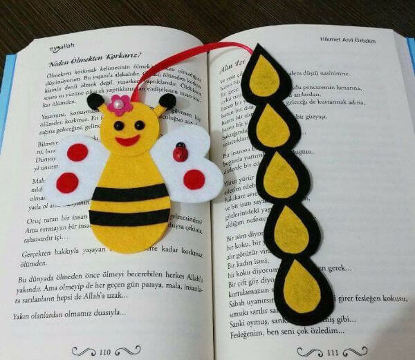 BOOKMARKS THAT EMRACES A NEW BEGINNING HONEY DROPPINGS OF A BEE