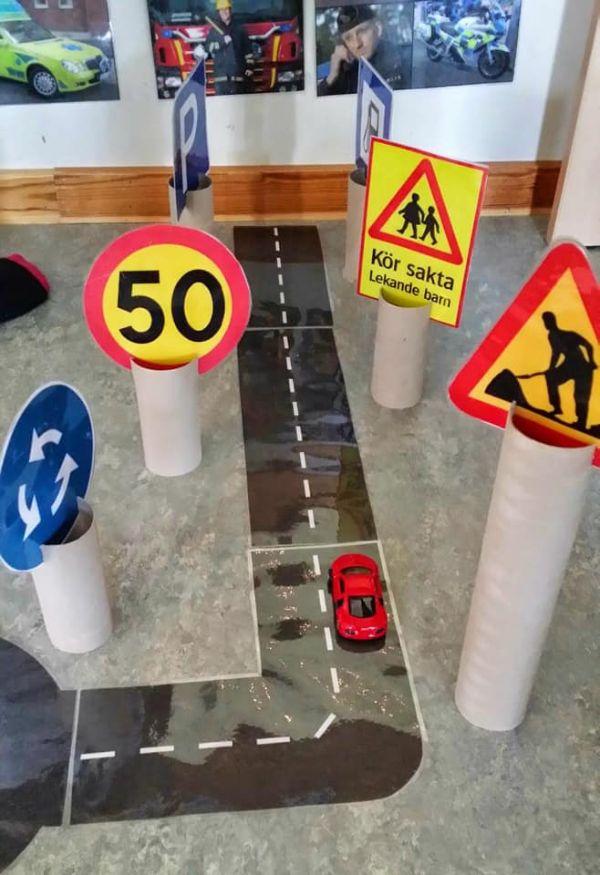 3-D road way