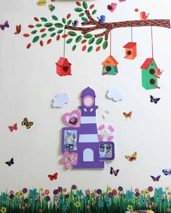 DIY Wall Décor Ideas - Kids Room Decoration And Wall Art Wall Art Photo Frame