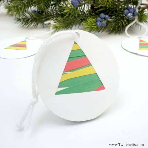 Paper ornaments for the season