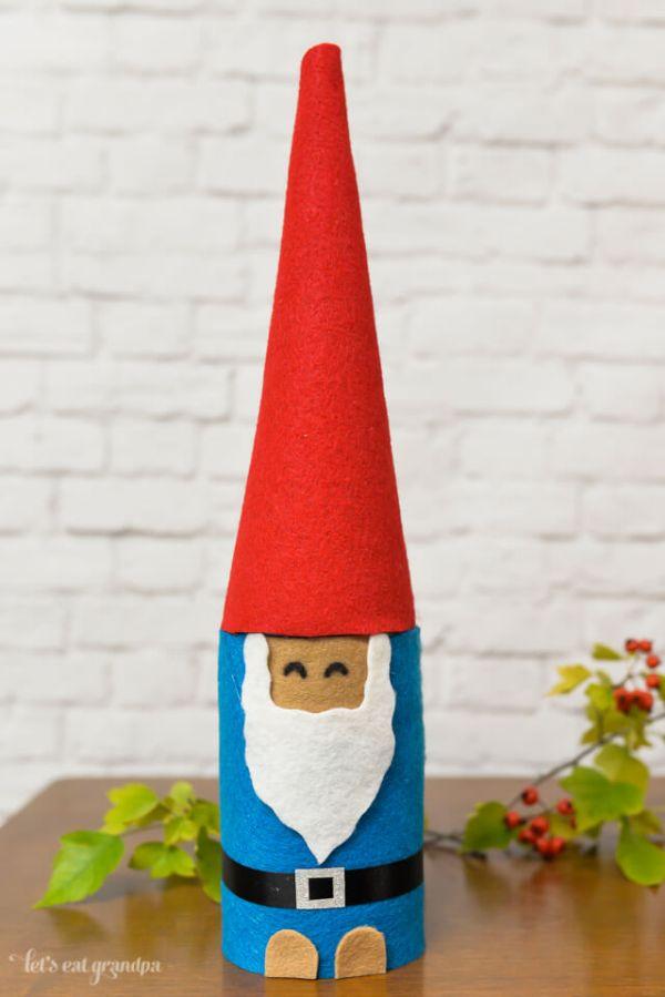 DIY Christmas Crafts for Kids Santa 'Cone' Claus