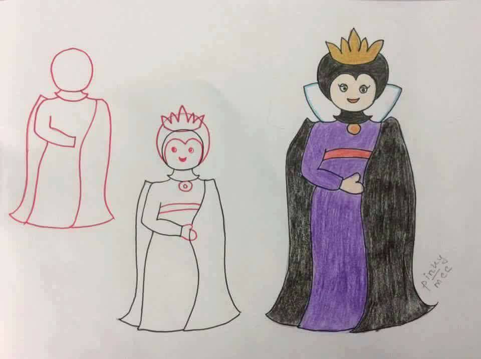 Enhance Drawing Skills of Your Kids Devil Lady