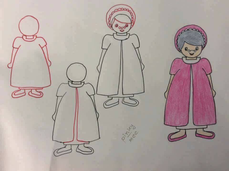 Enhance Drawing Skills of Your Kids Oldy Granny