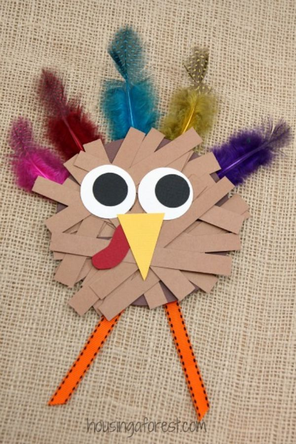 Fall Craft Ideas for Kids PaperHen