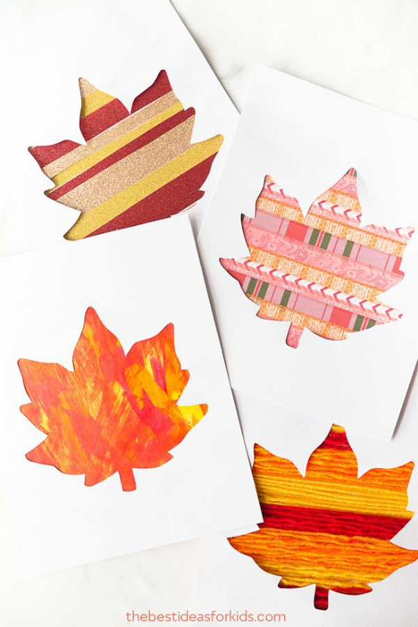 Fall Craft Ideas for Kids Autumn Leaves