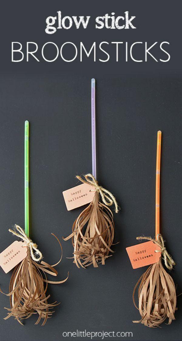 Glowing Broomsticks