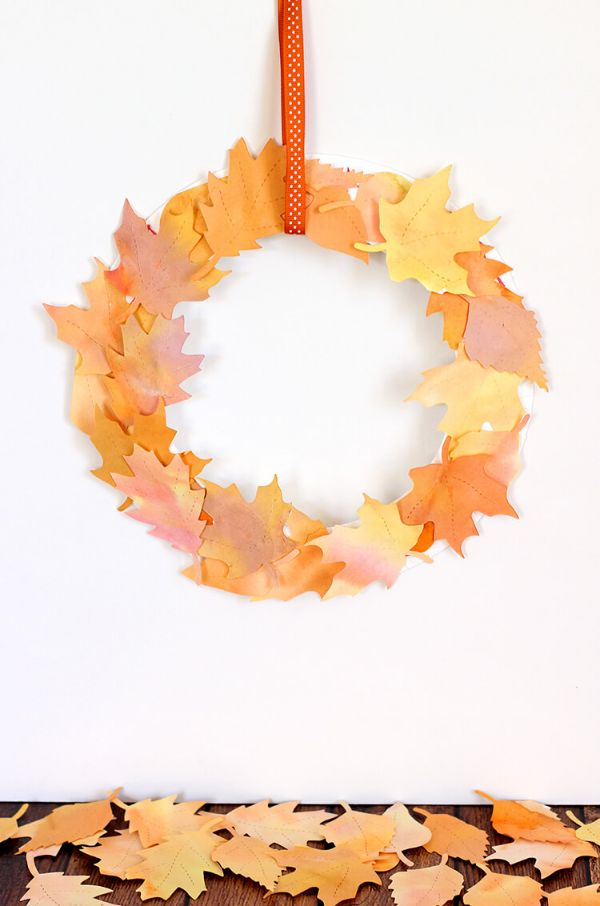 Fall Craft Ideas for Kids Leaf Ring