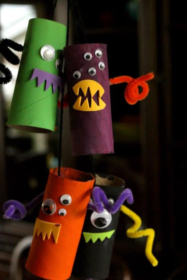Paper Roll Monsters