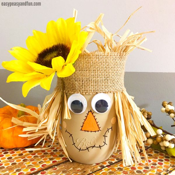 Fall Craft Ideas for Kids Flower Basket