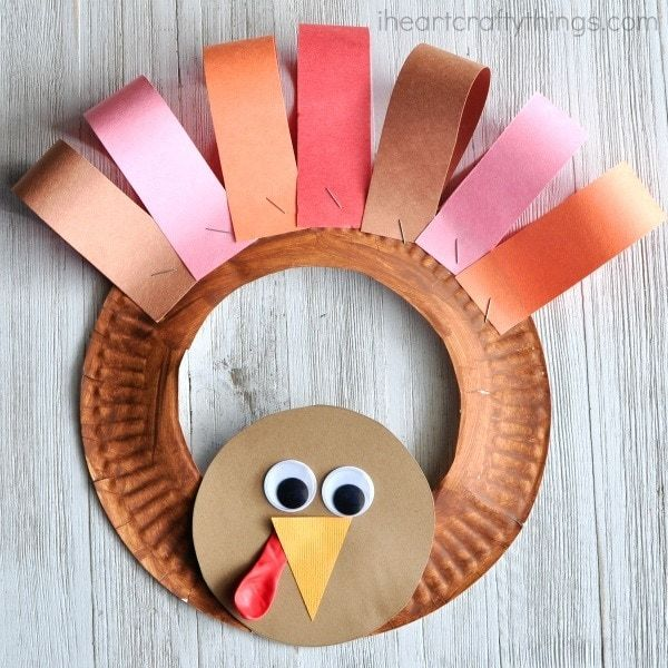Fall Craft Ideas for Kids Paperplate Hen