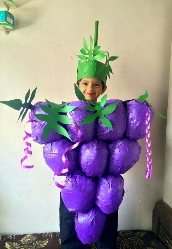 How fancy Dress can work as a lesson Juicy Grapes