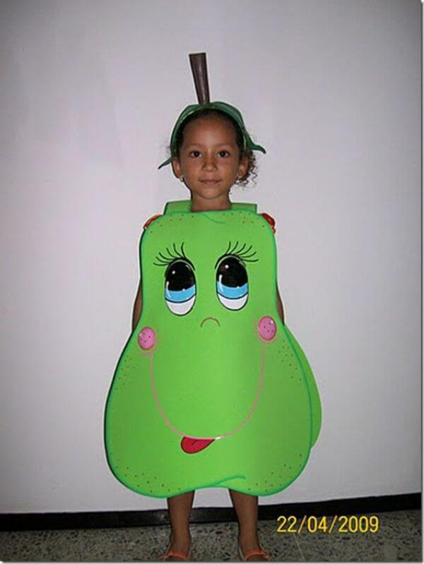 How fancy Dress can work as a lesson Pear is Healthy