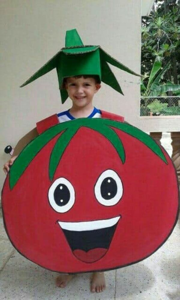 How fancy Dress can work as a lesson Sauce it up with Tomato