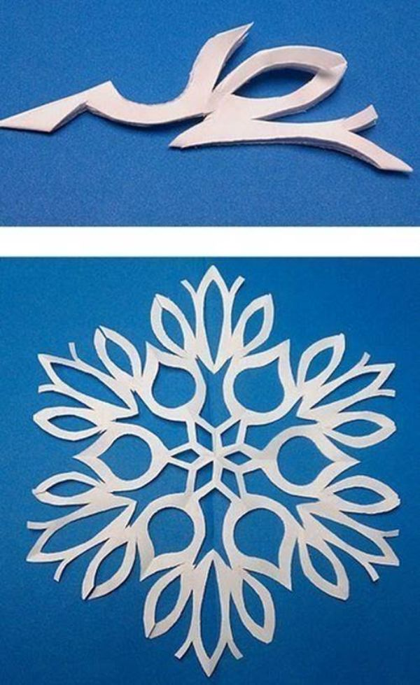How to Make 6 Pointed Paper Snowflake - Step by Step Tutorials