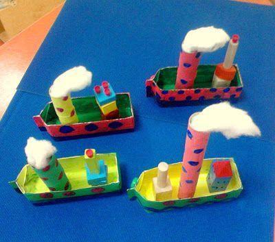 Transportation Crafts For Kids And Preschoolers Water transportation crafts for your preschoolers
