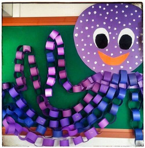Beautiful octopus for classroom decor
