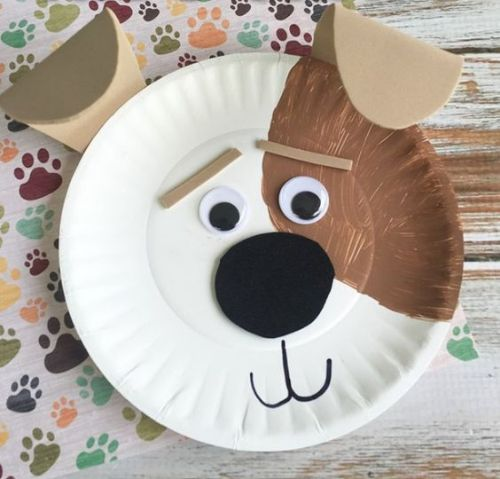Best Out Of Waste- DIY Paper Plate Crafts For Kids Dog Paper Plate Craft