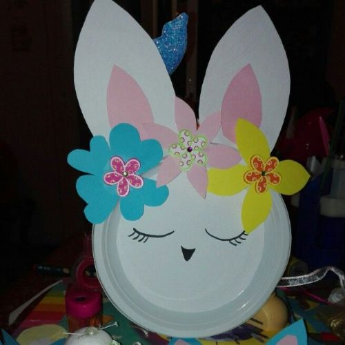 Best Out Of Waste- DIY Paper Plate Crafts For Kids Beautiful Bunny