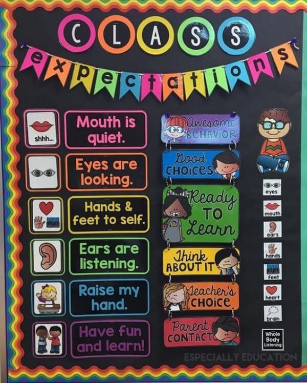 Rainbow Bulletin Board Ideas for Classroom Decoration