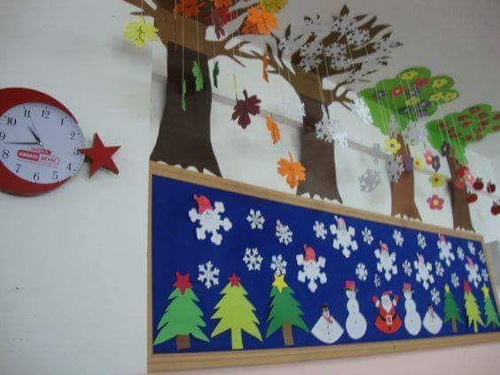 Classroom Decor Ideas CHRISTMAS DECORTION