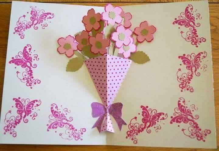 Interesting and Easy Paper Card Ideas for your loved ones The 3D Greeting Card