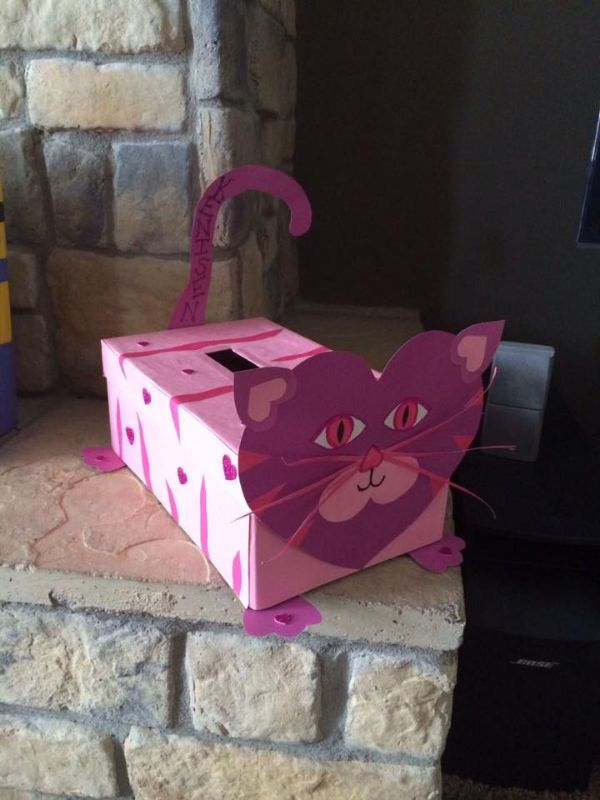 Creative Cardboard Box Crafts For Kids Meow Again