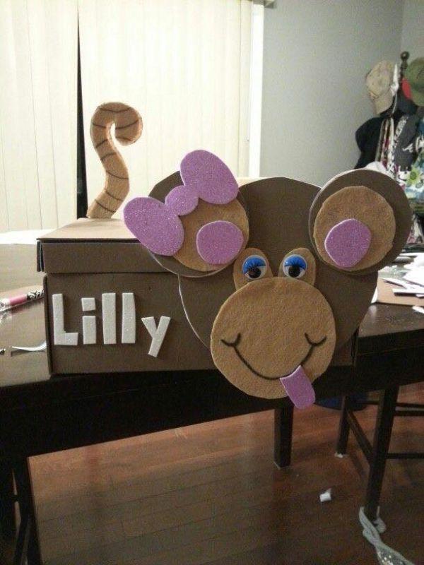 Creative Cardboard Box Crafts For Kids