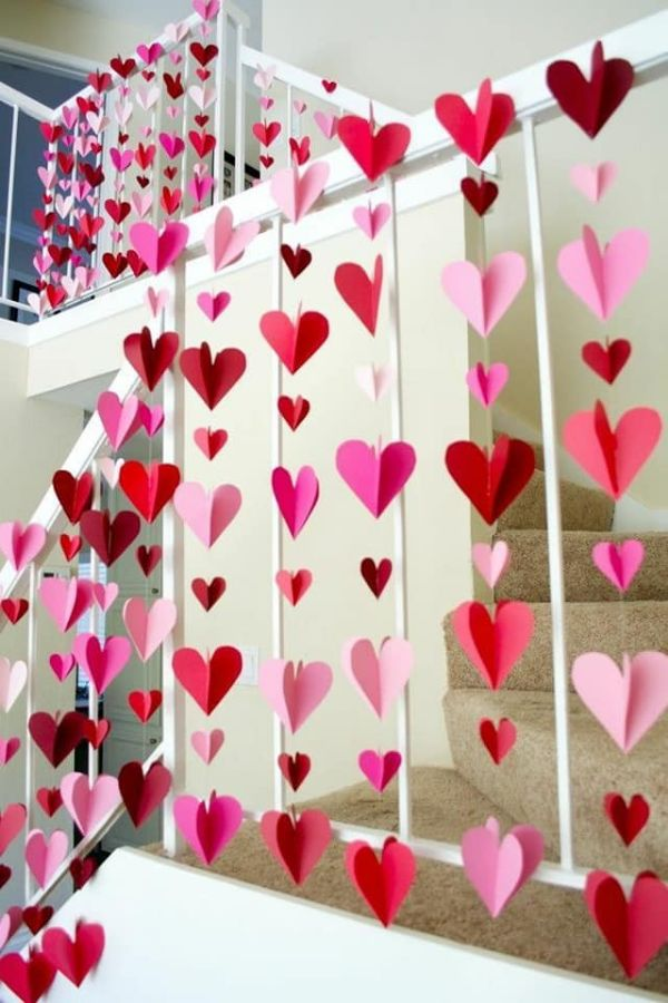 Heart shower