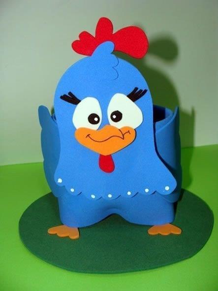 Foam Craft Ideas for Kids A foam chicken