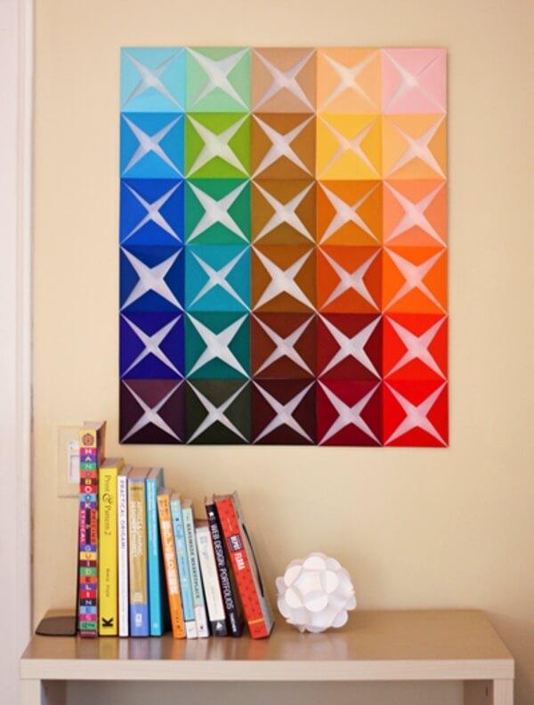DIY Wall Décor Ideas - Kids Room Decoration And Wall Art Multi Hued Checks