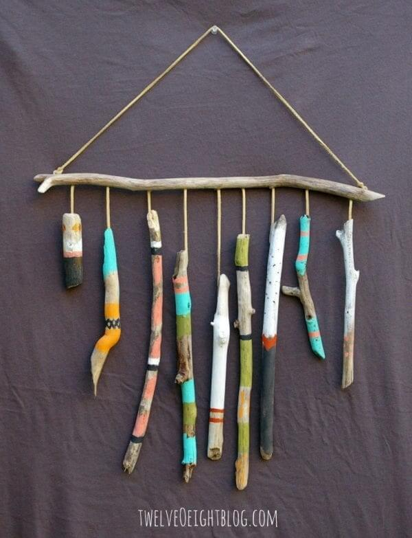 Wall Hanging Twigs