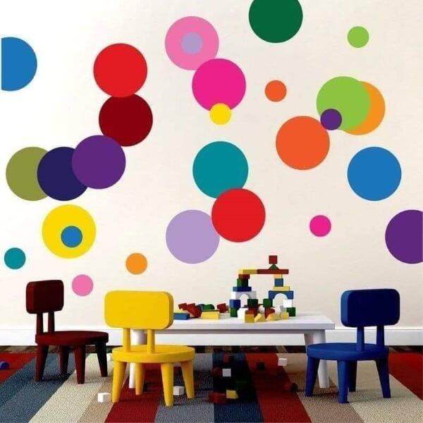 DIY Wall Décor Ideas - Kids Room Decoration And Wall Art Multicolor Spots